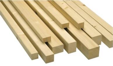 Dřevěné hranolky