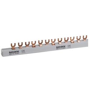 NOARK Propojovací lišta BBU 3L 10 M54, 3fázová, 10mm2, 63A, 54M (1m)