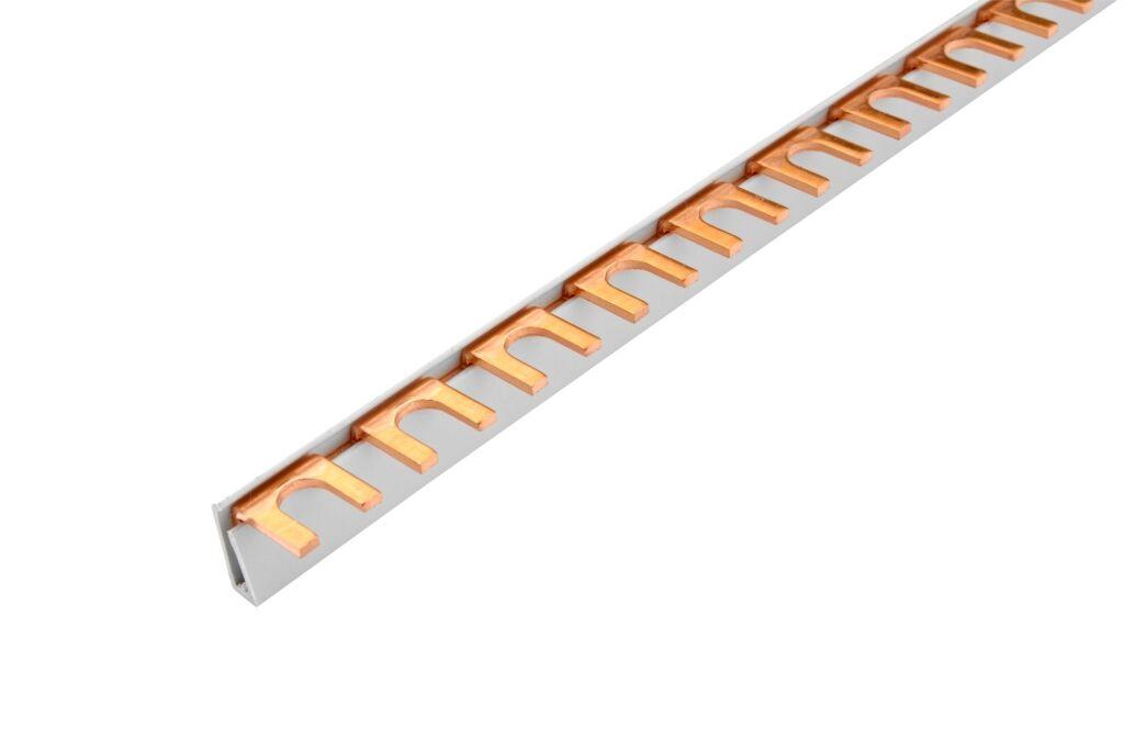 ELEMAN Propojovací lišta vidl. G-1L-210/12 iso 1-fáz. 65A 12mod