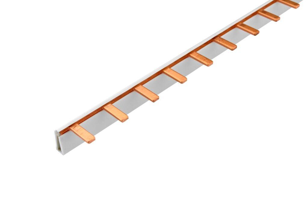 ELEMAN Propojovací lišta jazýček S-1L-210/10iso 1-fáz. 63A 12mod