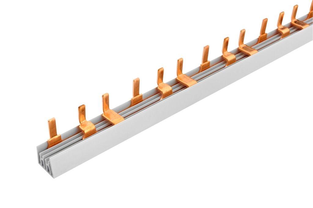 ELEMAN Propojovací lišta jazýček S-3L-210/10 3-fáz. 63A 12mod