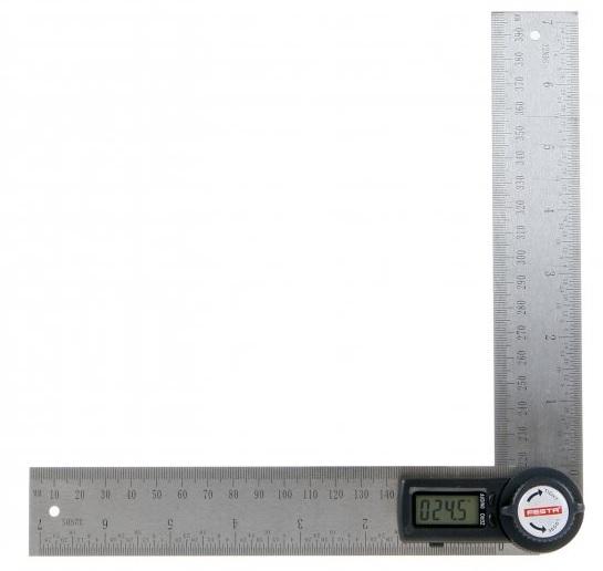 Úhloměr digitální s pravítkem 200mm