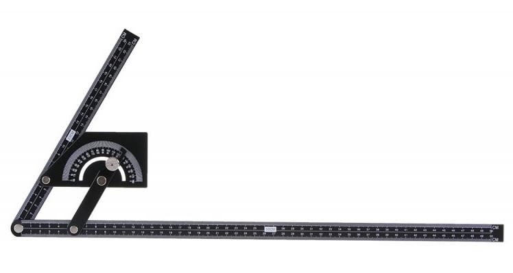 Úhloměr plechový 230x500mm