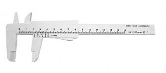 Kinex Mechanické posuvné měřítko 0-150mm, plastove