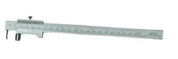 Meastech Měřítko rýsovací posuvné 200mm, INOX, se šroubkem