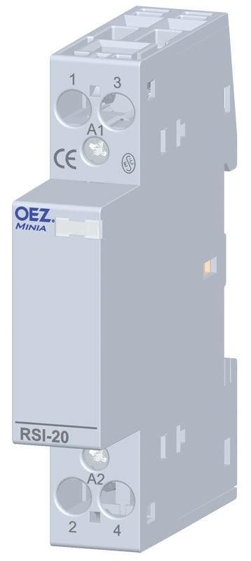 OEZ RSI-20-10-X230 Instalační stykač 20A 230VAC