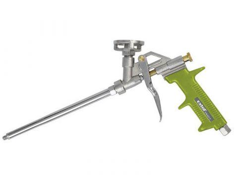 Pistole celokovová na PU pěny, s regulací průtoku, EXTOL CRAFT 85020