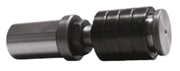 Otočné dorazy materiálu pro CNC soustruhy s kompenzací