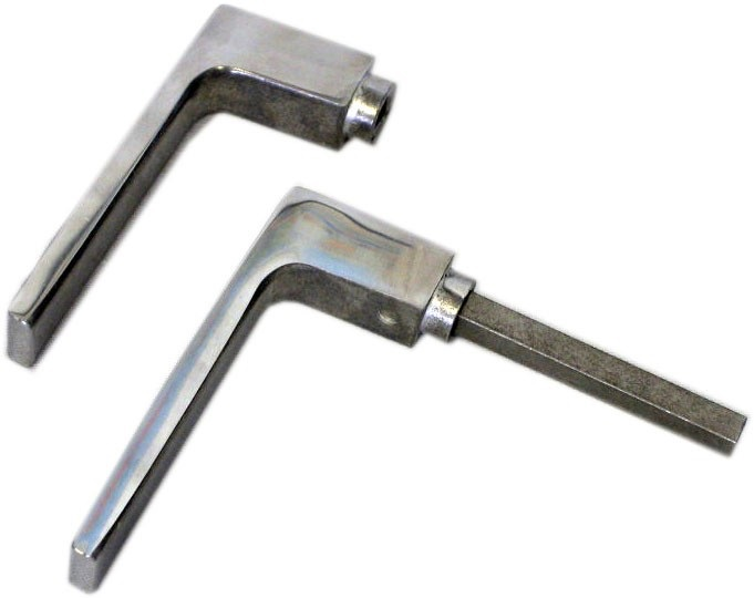 Klika dveřní hliník