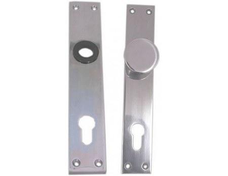 Štít dveřní s knoflíkem, hliník, FAB 72 bez klik