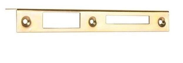 Protiplech - 1/1, L-P, rozteč 93mm, zinek