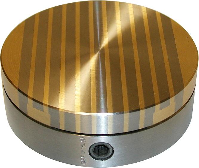 Permanentní magnetický upínač pro kruhové dokončovací broušení NEOGRIP