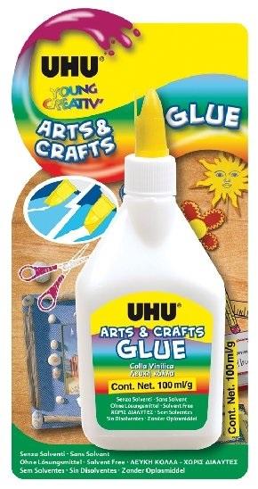 UHU Arts & Crafts Glue Lepidlo bílé 100 g