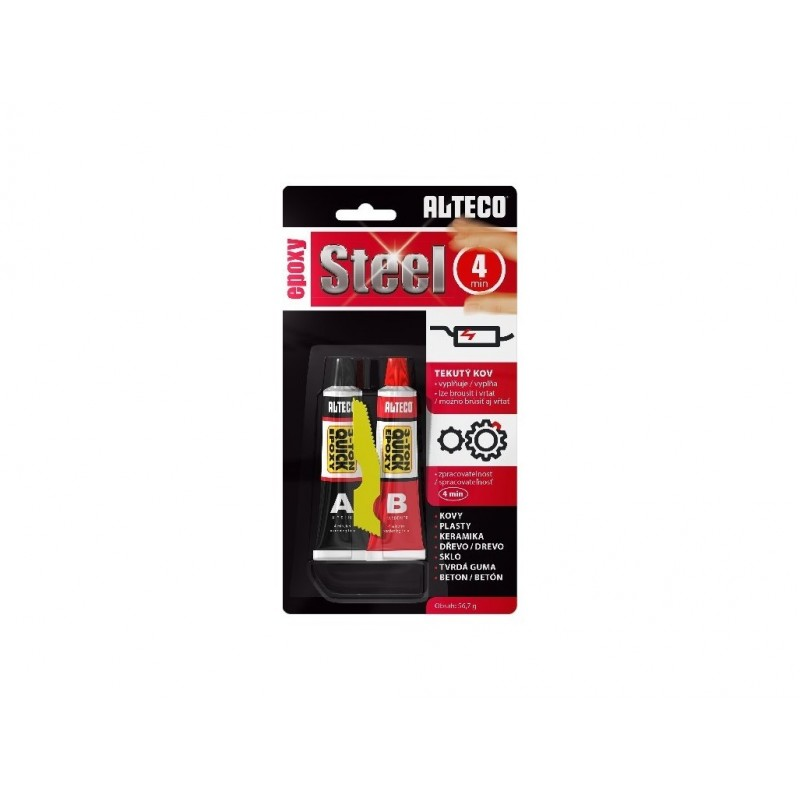 ALTECO Epoxy Steel 4 min rychleschnoucí lepidlo