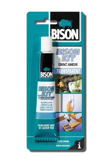 BISON 9159 KIT Transparent kontaktní lepidlo 50 ml