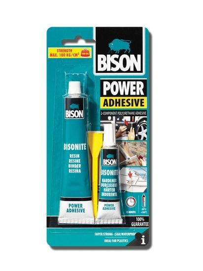 BISON 1902 Power Adhesive dvousložkové lepidlo na tvrdé plasty 65 ml