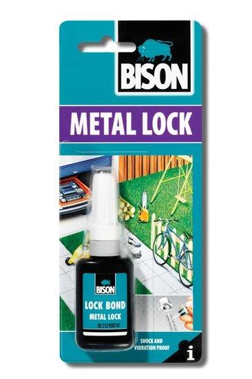 BISON 1747 Metal Lock Lepidlo na závitové spoje 10 ml