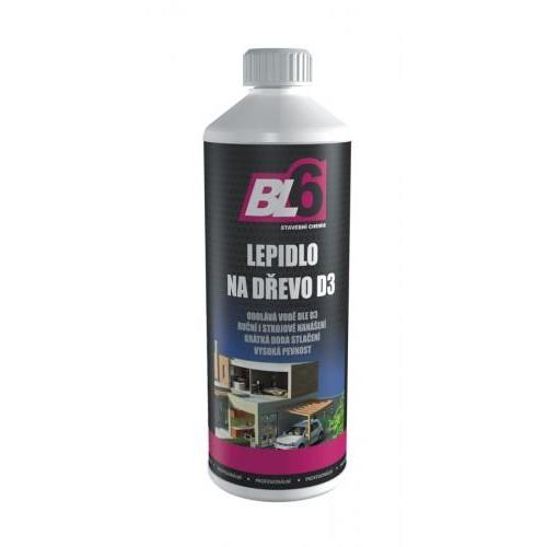 BL6 D3 Lepidlo na dřevo 0,5 l