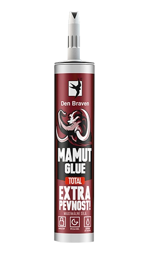 Den Braven 51920BD Mamut Glue Total Vysokopevnostní lepidlo bílé 290 ml