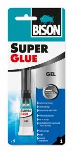 BISON 17960 Super Glue Gelové vteřinové lepidlo 3 g