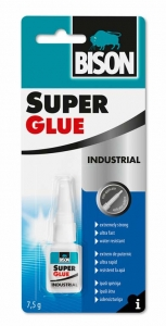 BISON 17964 Super Glue Profesionální vteřinové lepidlo 7,5 g