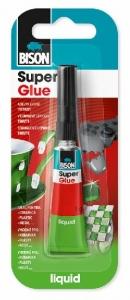 BISON 26675 Super Glue Liquid Vteřinové lepidlo 3 g