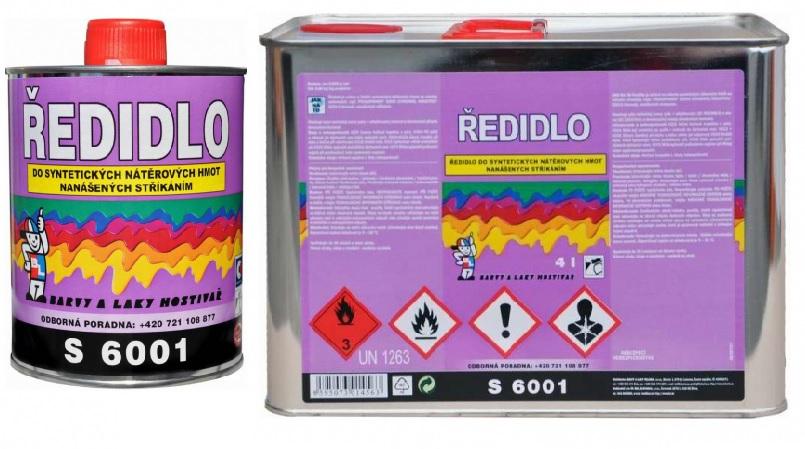 Ředidlo S6001/000 do syntetických nátěrových hmot