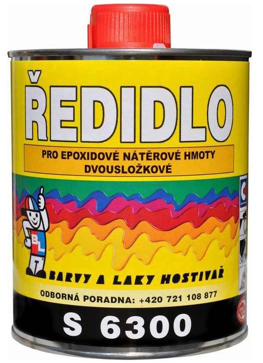 Ředidlo S6300/0000 pro epoxidové nátěrové hmoty 0,75 l