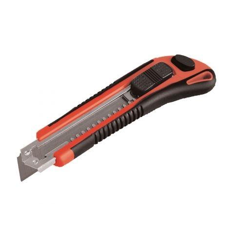 Extol Premium Nůž ulamovací 18mm, plast-kovová výztuha, automatická výměna