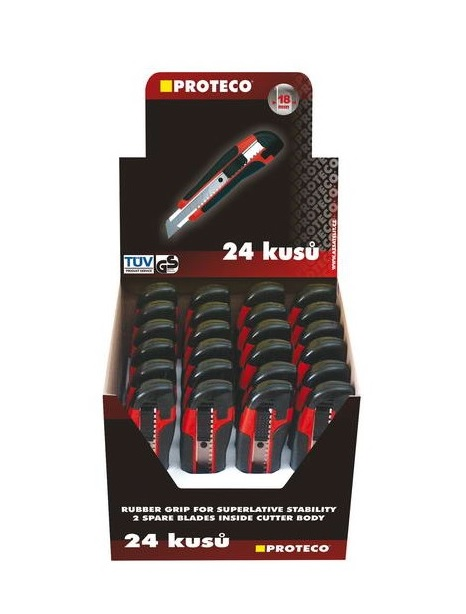 Proteco Nůž ulamovací 18mm, plast