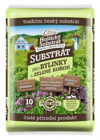 Substrát FORESTINA HOŠTICKÝ pro bylinky a zelené koření 10l